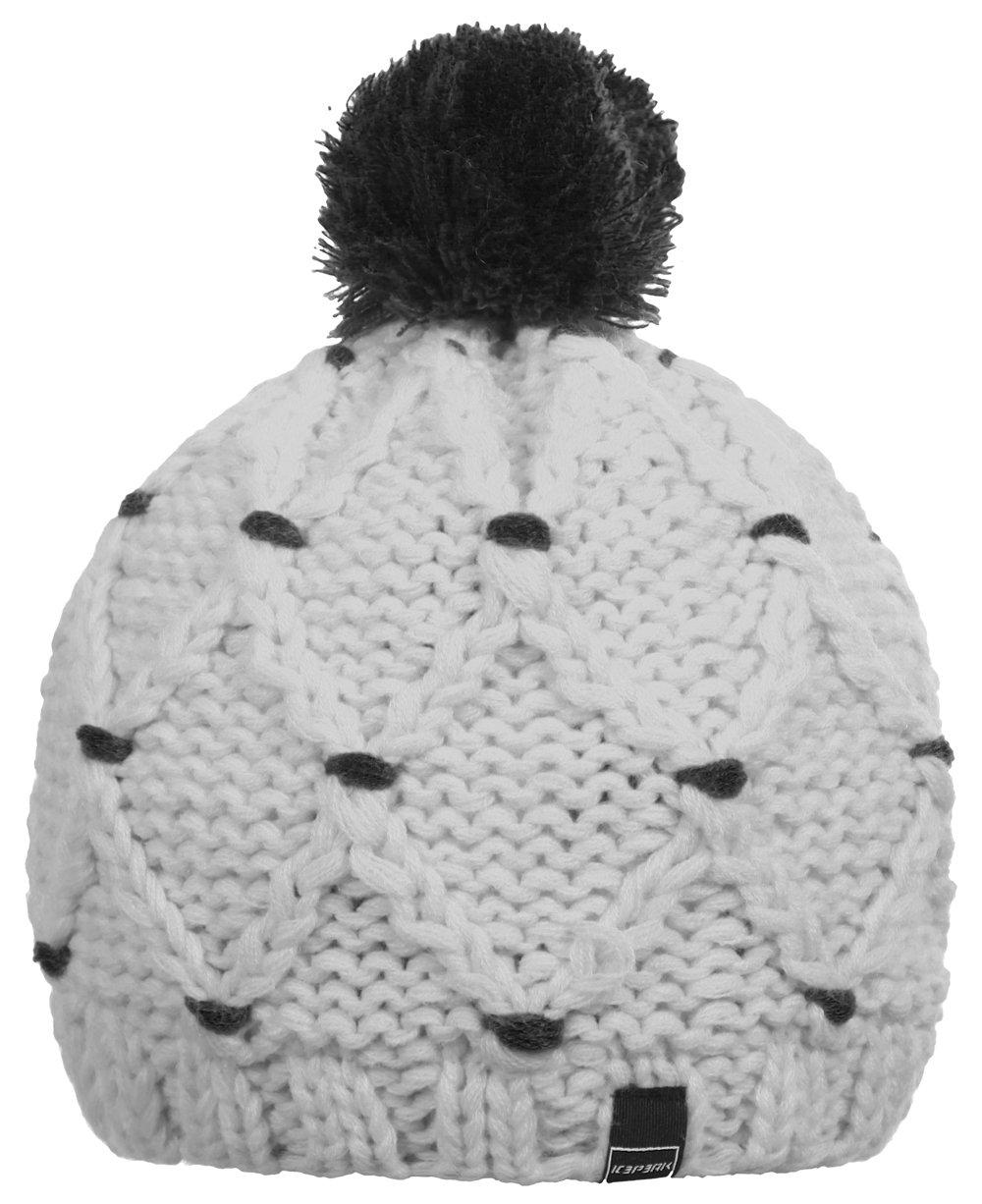 Icepeak Bonnet pour femme Blanc Blanc (980) taille unique mont blanc legend pour femme