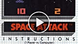 Classic Game Room - SPACE ATTACK For Atari 2600 Review