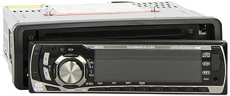 Sub-Zero Ice Façade d'autoradio USB RDS CD/ MP3 Tuner