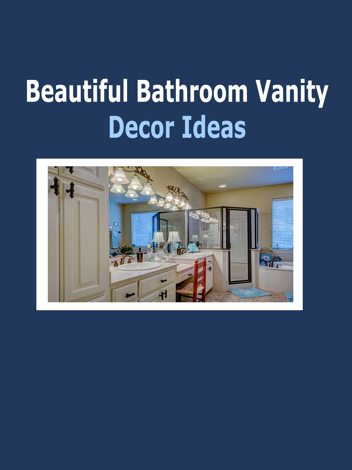 Beautiful Bathroom Vanity Decor Ideas
