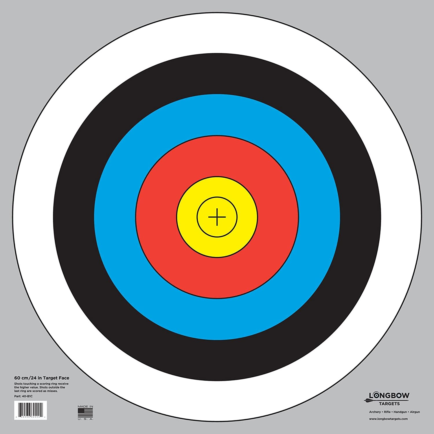 Transformative image regarding printable archery targets