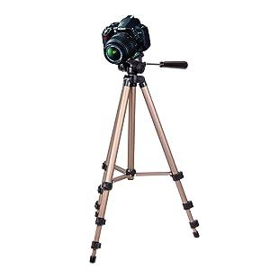 DURAGADGET Trípode Profesional Y Ligero Sirve Con Sony Nex-7, Alpha SLT-A65, SLT-A55, Nex -C3 & Nikon 1J1, D3100, D700 & P7004 - Electrónica Comentarios y más información