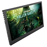Monitor IPS Display -11.6 Inch HD LED Portable Screen 1920X1080p Resolution Double HDMI Build-in Speaker for XP Windows 7 8 10 Car PS4 PS3 Xbox 360 Xbox one NS Raspberry pi 3 CCTV Security by Ekooll (Color: 11.6 Inch, Tamaño: 11.6 Inch)