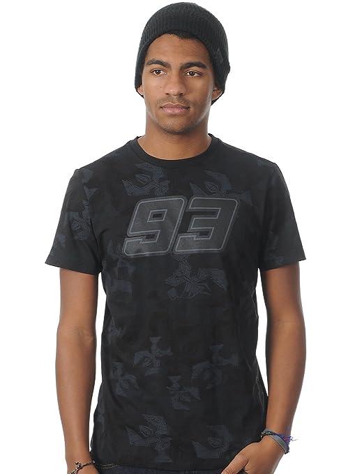 VR/46 mMMTS106004 shirt marquez, noir