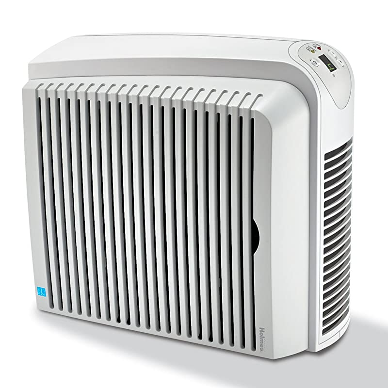 Holmes True HEPA Air Cleaner and Odor Eliminator with Digital Display for Medium Spaces, HAP726 via Amazon
