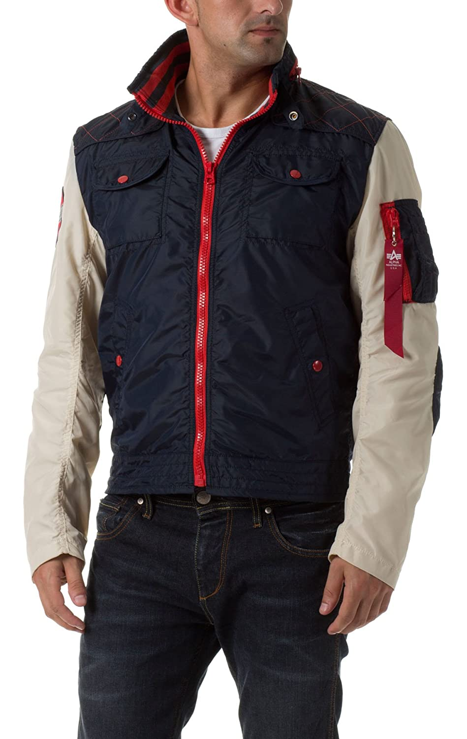 Alpha Industries MC Club Jacket Übergangsjacke Bla online kaufen