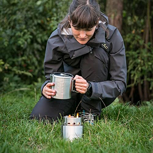 Solo Stove Backpacking Stove Ultra Light Weight