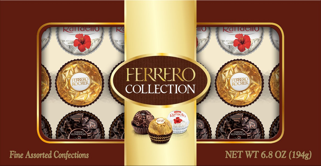 Ferrero Collection, 18 Count, 6.8 Ounce (194 gm)