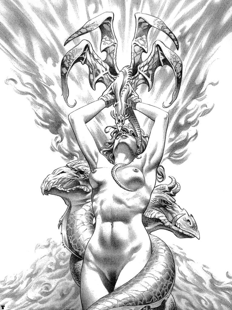 Amazon.com: Fantasy Art Collection - 450+ Black and White, Color ...