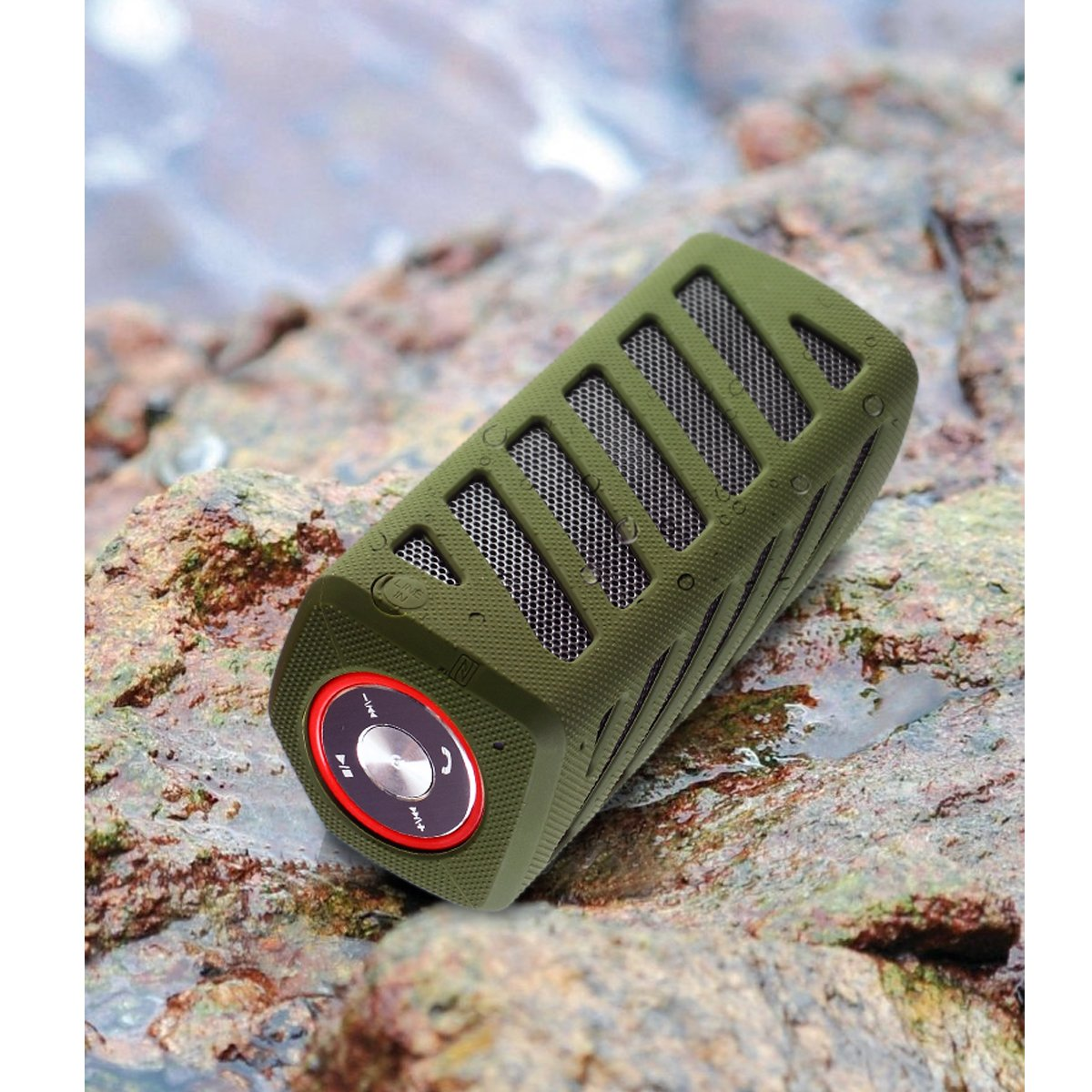 NFC Waterproof Super Bass Portable Bluetooth Speaker
