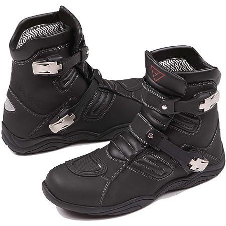 Modeka muddy de sport bottes de moto noir taille :  45