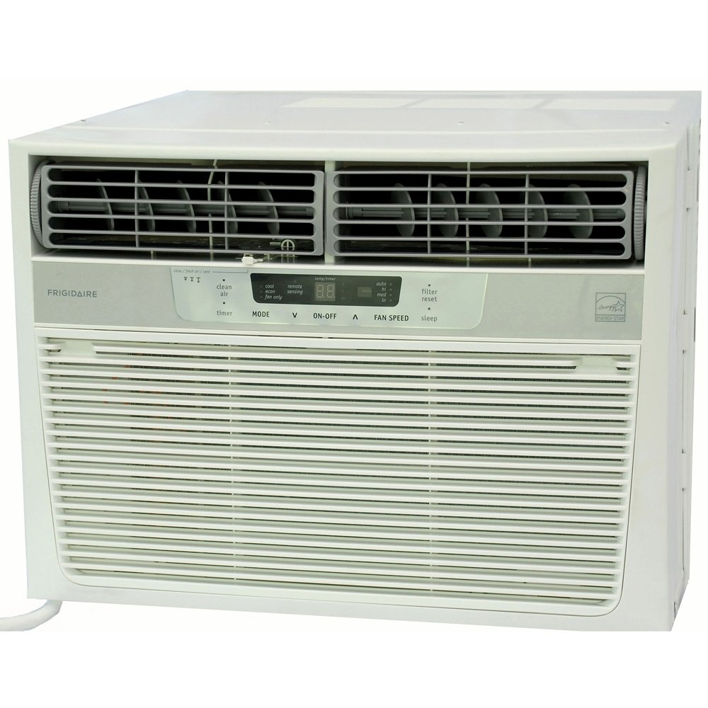 Frigidaire FRA226ST2 22,000 BTU Window-Mounted Heavy-Duty Air Conditioner with Temperature Sensing Remote (230 volts)
