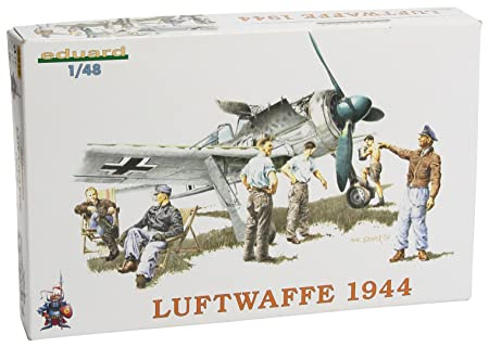 Eduard EDK8512 Luftwaffe Fighter Crew 44 1:48 Plastic Kit Maquette