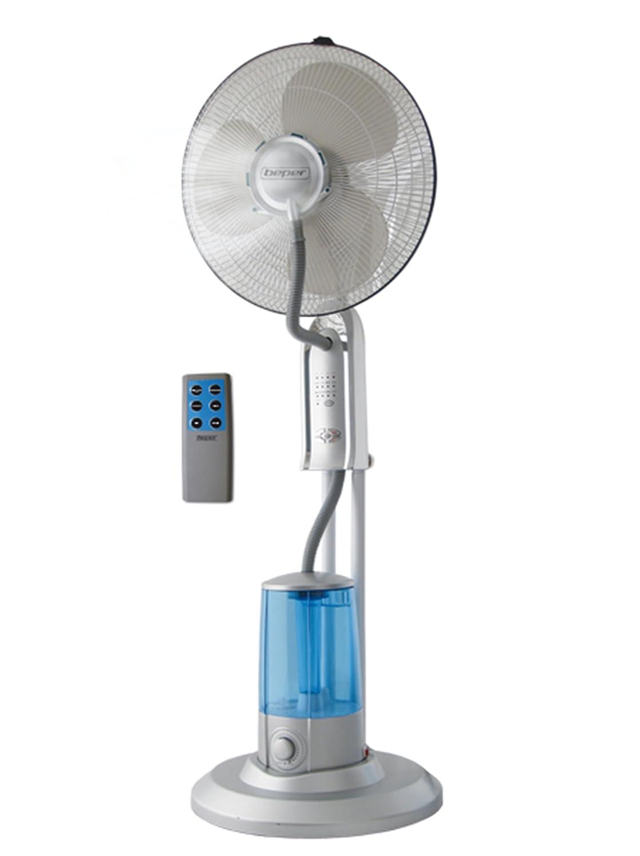 Ventilador de pie con sistema de agua