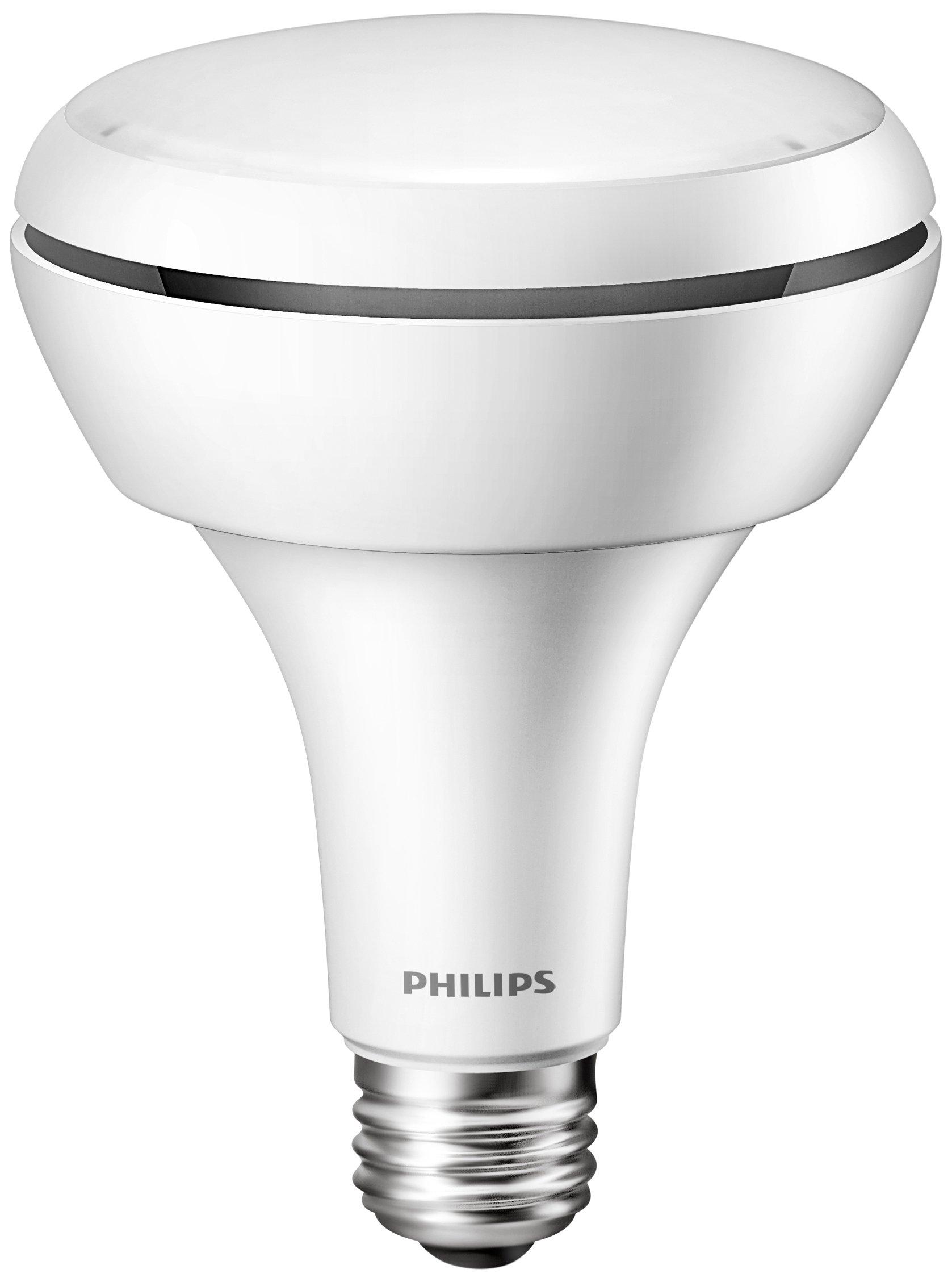philips 65w equivalent led br30 soft flood light bulb with. Black Bedroom Furniture Sets. Home Design Ideas