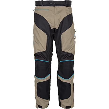 Moto Spada, pantalons Textile Latitude WP noir/sable