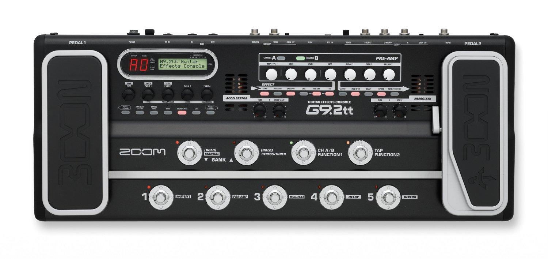Напольная педаль мультиэффектов Zoom G9.2Tt Guitar Console With 2 Tubes - G92TT