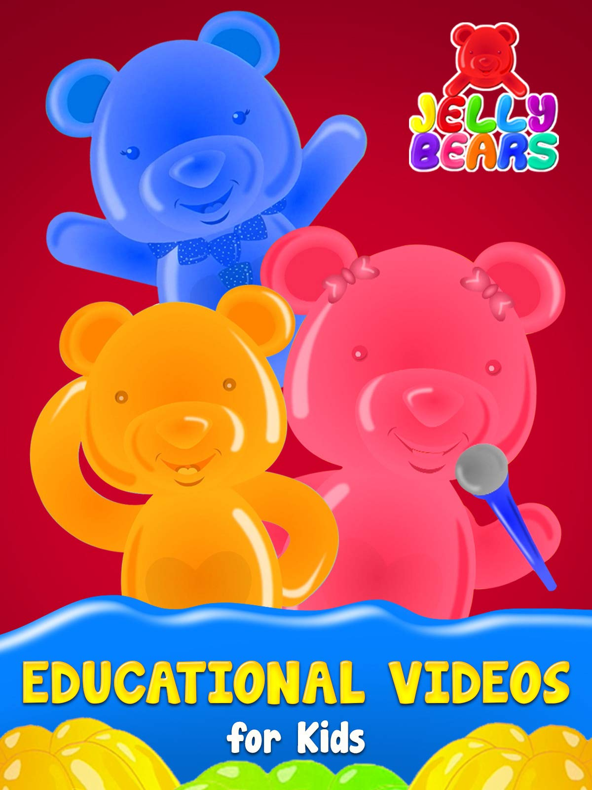 Educational Videos for Kids - Jelly Bears