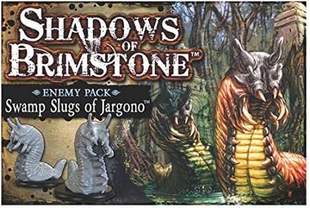 Shadows of Brimstone: Swamp Slugs of Jargono - Enemy Pack - English