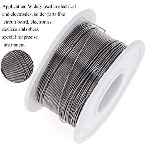 2 Pack Solder Wire Tin Lead Rosin Core 60-40 Fine Soldering Wire Reel (0.6mm,50g) + Solder Rosin Flux Paste Gel (0.35oz/10g)Kits for Electronics Repairs and Soldering DIY (Color: Solder wire + Solder Flux Paste, Tamaño: 2 Solder wire + Solder Flux Paste)