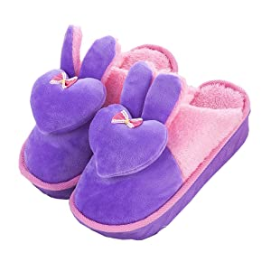 Cattior Womens Cotton Open Toe Ladies Slippers Bedroom