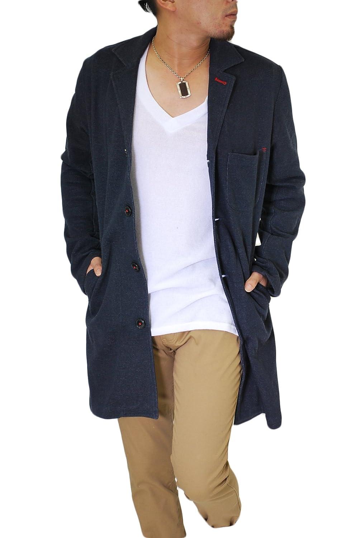 Amazon.co.jp: (ロハス) LOHASカラーショップコート/チェスターコート/ロング丈/メンズ/コート/アウター: 服&ファッション小物通販