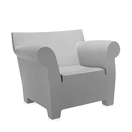 Kartell Bubble Club Sessel, hellgrau Polyethylen