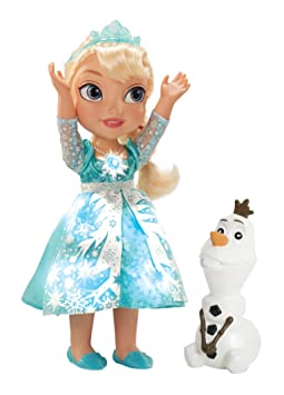 Amazon.com: My First Disney Princess Frozen Snow Glow Elsa Singing Doll: Toys & Games