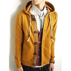 (モノマート) MONO-MART 10color パーカー 秋 ボリュームネック メンズ 長袖