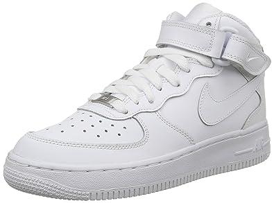 nike air force 1 bianco su bianco