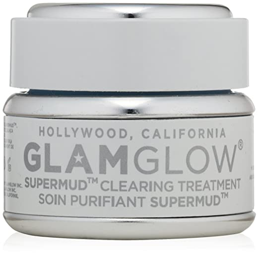 Amazon.com : GLAMGLOW Super-MudTM Clearing Treatment 1.2 oz : Facial Muds : Beauty