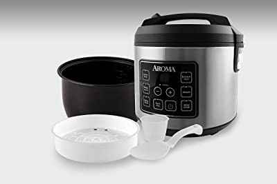 Aroma Housewares ARC-150SB Digital Rice Cooker, Slow Cooker, Food Steamer Via Amazon