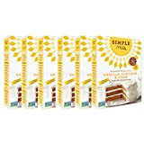 Simple Mills Almond Flour Mix, Vanilla Cupcake & Cake, 11.5 oz, 6 count