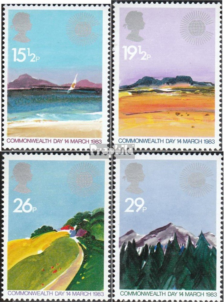 Commonwealth Day Stamps 1983