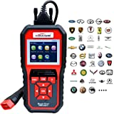 KONNWEI OBD2 Scanner, OBD Code Reader Code Scanner OBDII & EOBD Car Engine Fault CAN Diagnostic Scan Tool with I/M Readiness(Updated 2018) (Color: Black/Red, Tamaño: 2.8