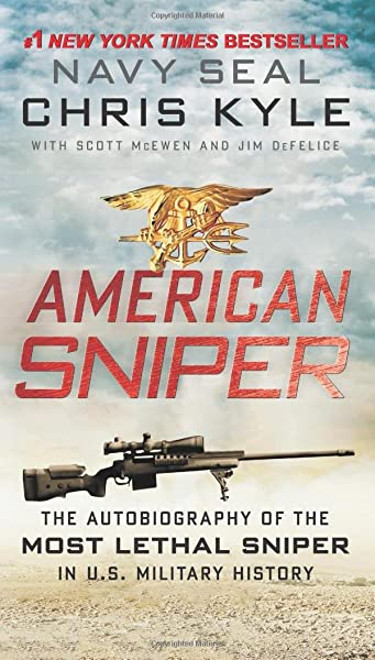 American Sniper: the autobiography of the most lethal sniper in U.S. military history, Edición en Inglés