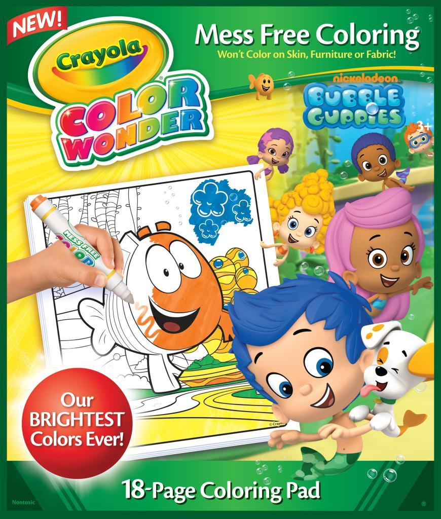 Amazon Crayola Bubble Guppies