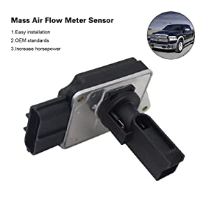New Mass Air Flow Sensor MAF Sensor Replaces 74-50011 XF2F12B579BA for Ford