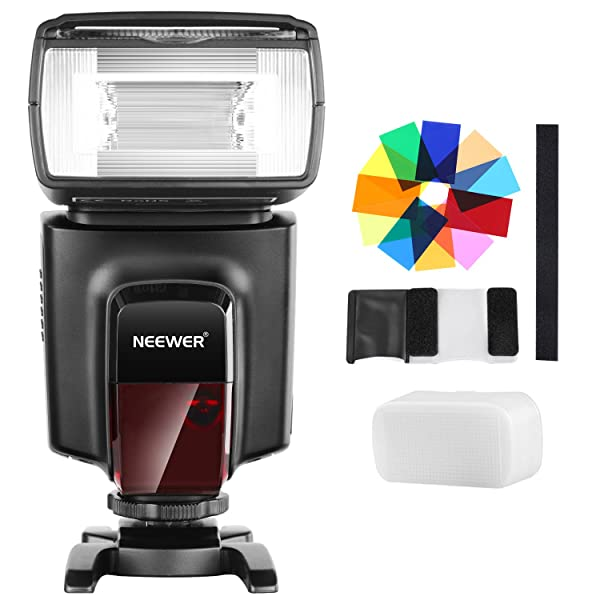 Neewer TT560 Flash Speedlite Kit for Canon Nikon Sony Pentax DSLR Cameras