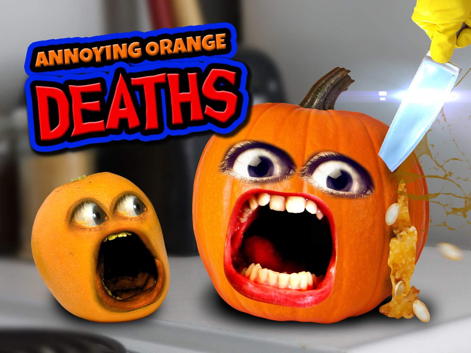 Clip: Annoying Orange Deaths on Amazon Prime Instant Video UK