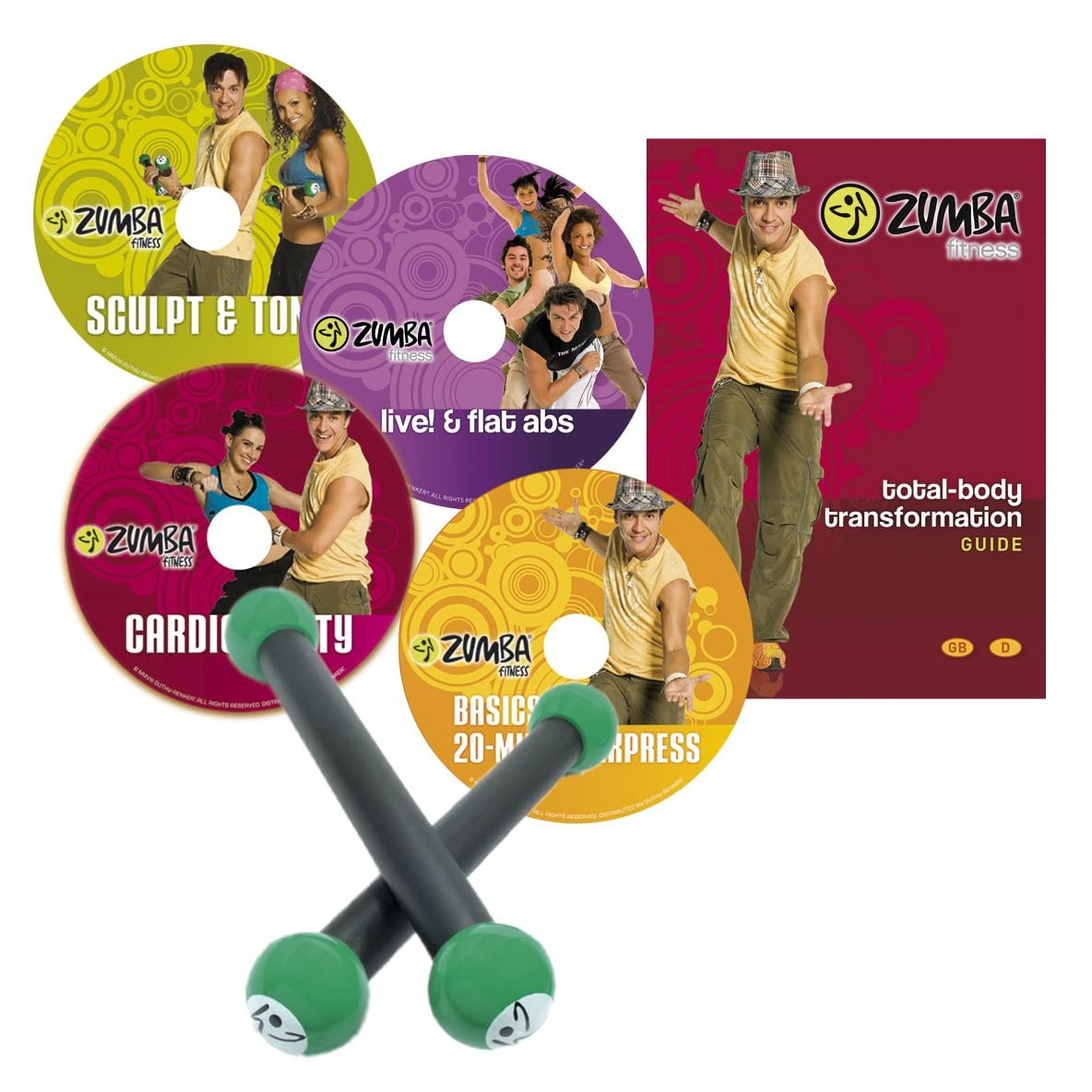 Zumba Fitness® DVD Programm Basis Set""