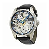 Tissot Men's T0704051641100 T-Complication Squelette Analog Display Swiss Mechanical Hand Wind Brushed Stainless Steel watch (Color: silver)
