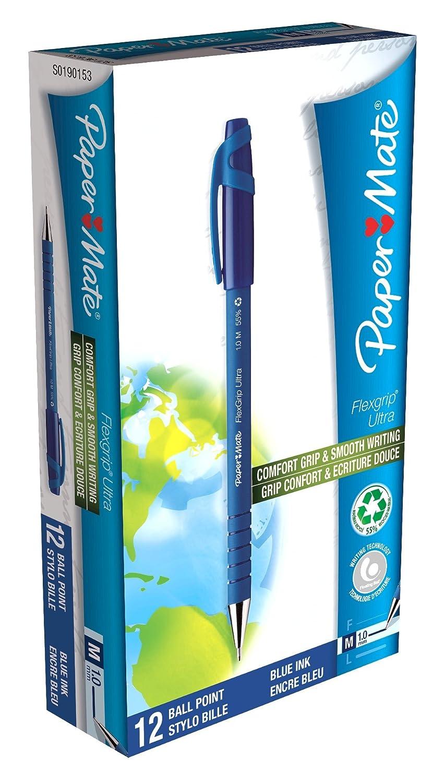 Papermate Flexgrip Ultra Stick Medium 12 pezzi