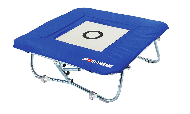 Sport-Thieme® Minitramp mit integrierter Ganzabdeckung Minitramp 125