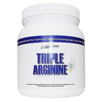 Triple Arginine 750g Pulver ( Arginin HCL, Arginin-Alpha-Ketoglutarat AAKG, Arginin Base)