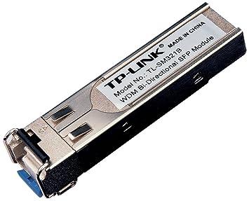 TP-Link TL-SM321B Module d'extension SFP WDM bidirectionnelle sur fibre optique 1000Base-BX TX 1310nm / RX 1550nm MonoMode jusqu'à 10 km