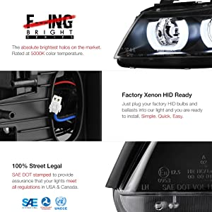For 2006-2008 BMW E90 E91 3-Series Adaptive AFS Xenon HID