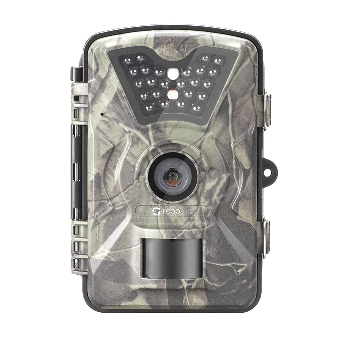 ECOOPRO 12MP 1080P HD Trail Camera Low-glow Game Hunting Camera with 65ft Night Vision & 90°Detection Angle