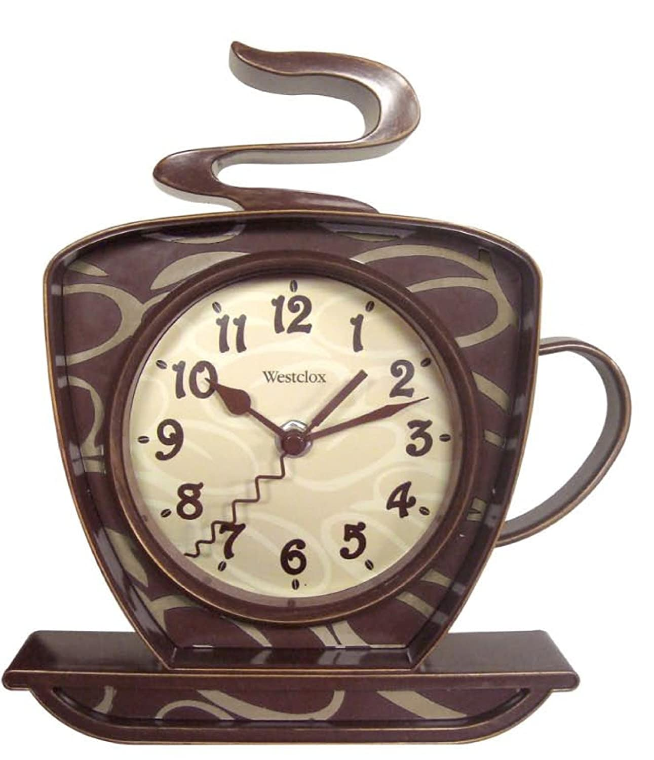 Coffee themed clocks house of rumpley - Coffee themed wall clocks ...