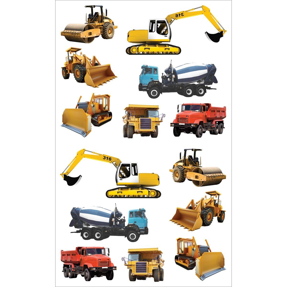 Mrs. Grossman's Stickers-Tractors & Trucks